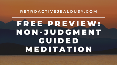 non-judgment guided meditation