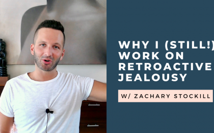 work on retroactive jealousy