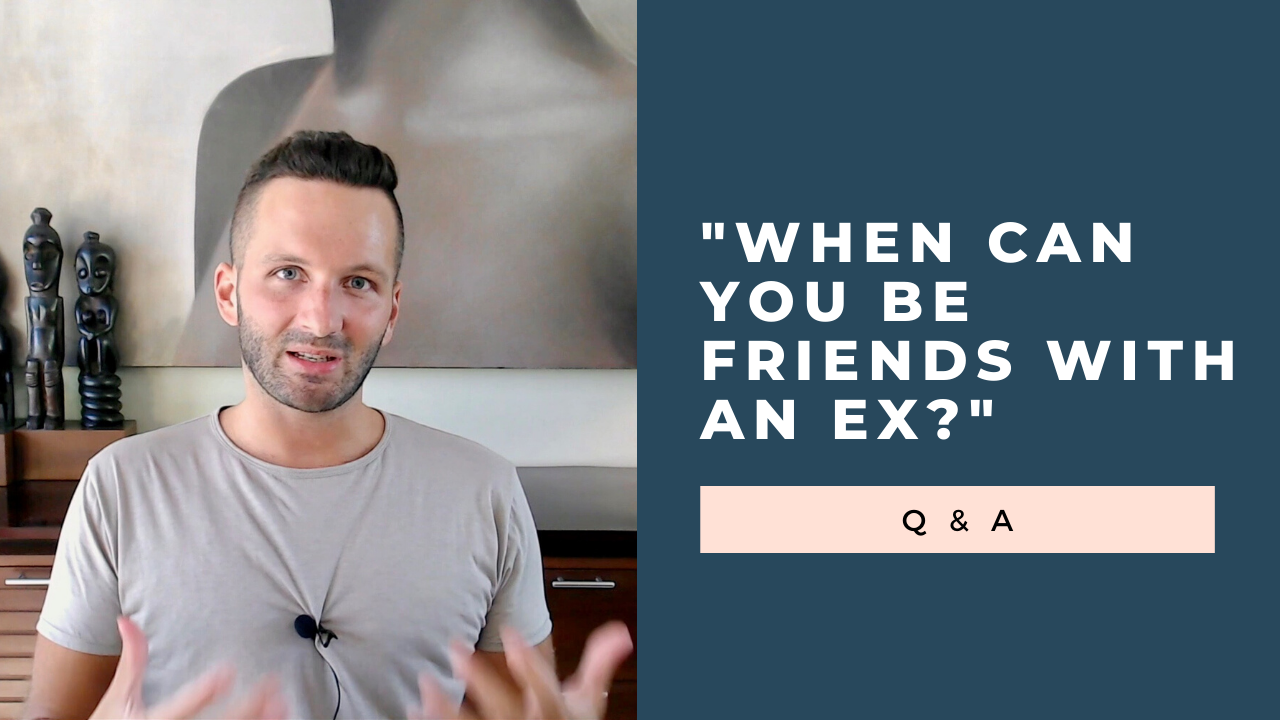 """When Can You Be Friends With an Ex?"" Q & A [VIDEO]"