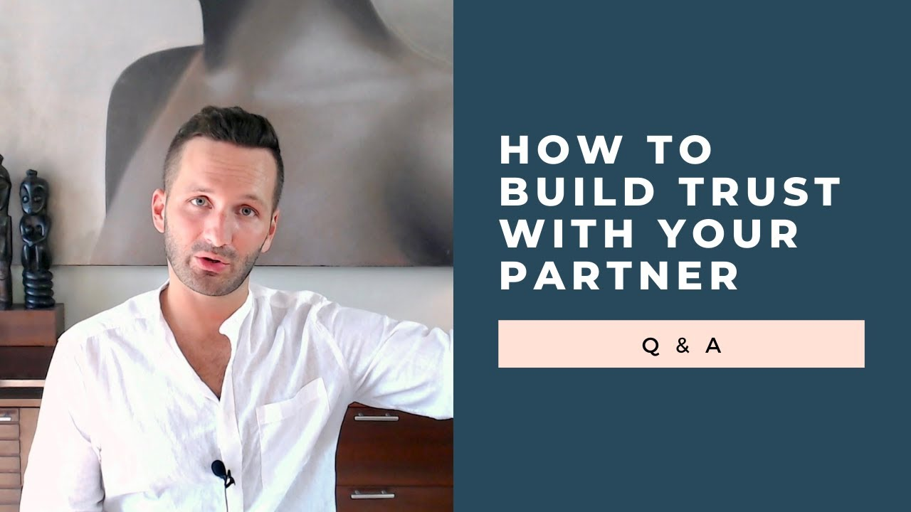 build trust in a relationship