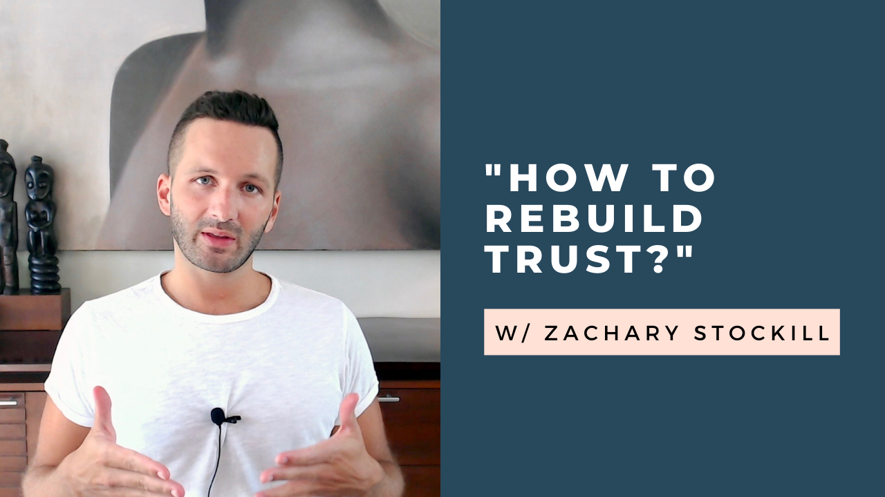 """""""How to Rebuild Trust in a Relationship?"""" Q & A [VIDEO]"""